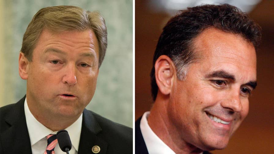 War of words between incumbent Heller and challenger Tarkanian ahead of 2018 contest