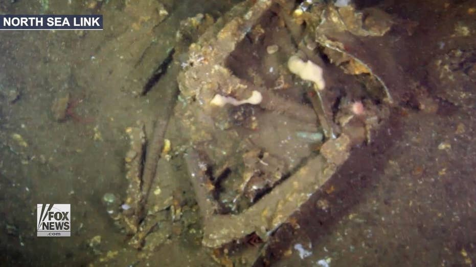 Lost WWII bomber discovered in North Sea