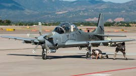 An Air Force aircraft crashed in New Mexico on Friday during a training exercise, injuring one crew member, officials said.