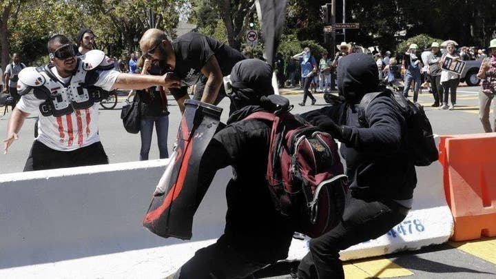 Should Antifa groups be barred from gathering?