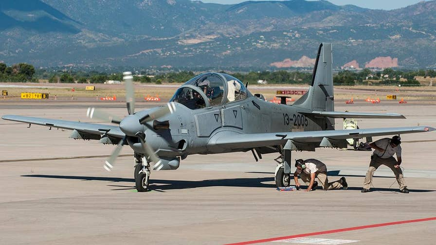 Inside look at the Super Tucano, a low tech-high tech combo, selected by the U.S. Air Force to take part in their exciting Light Attack Experiment and made in the USA by the Sierra Nevada and Embraer partnership