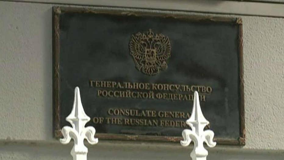 US orders closure of Russian consulate in California