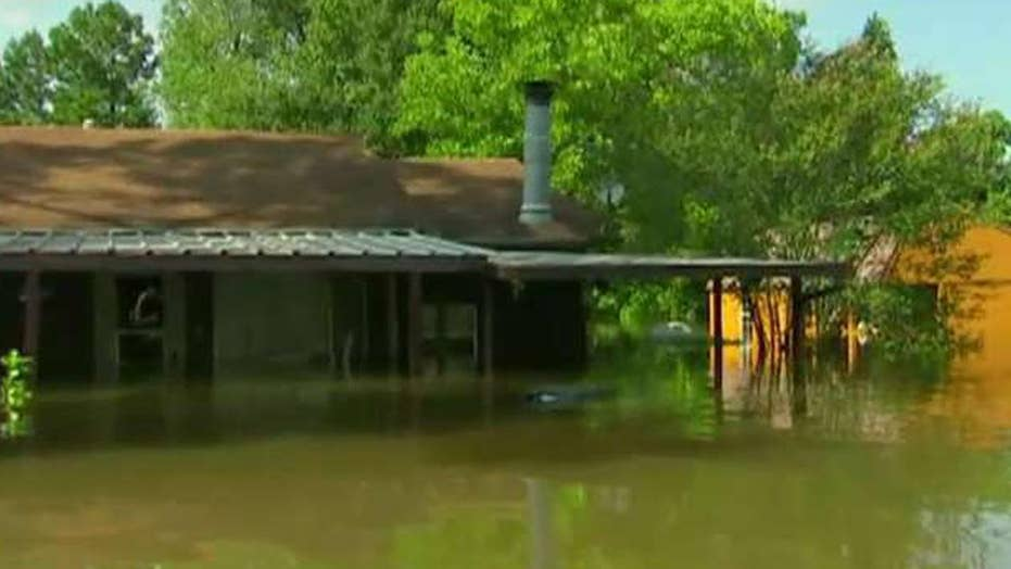 Texas congressman describes being trapped by floodwater