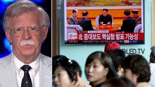 Bolton: Sanctions give NKorea more time to increase arsenal