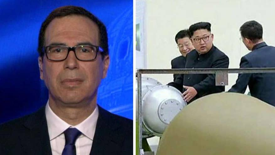 Treasury secretary reacts to claims of new nuclear test on 'Fox News Sunday'