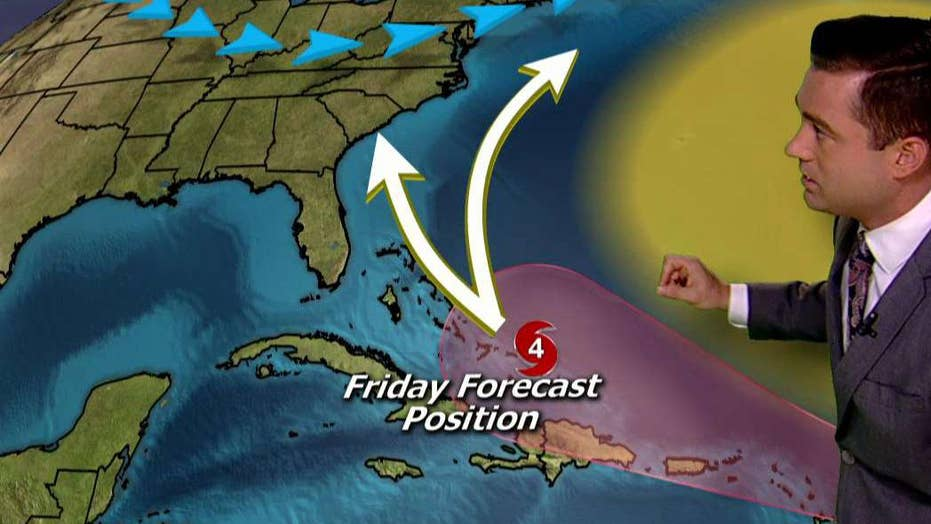 Hurricane Irma strengthens to category 3 storm