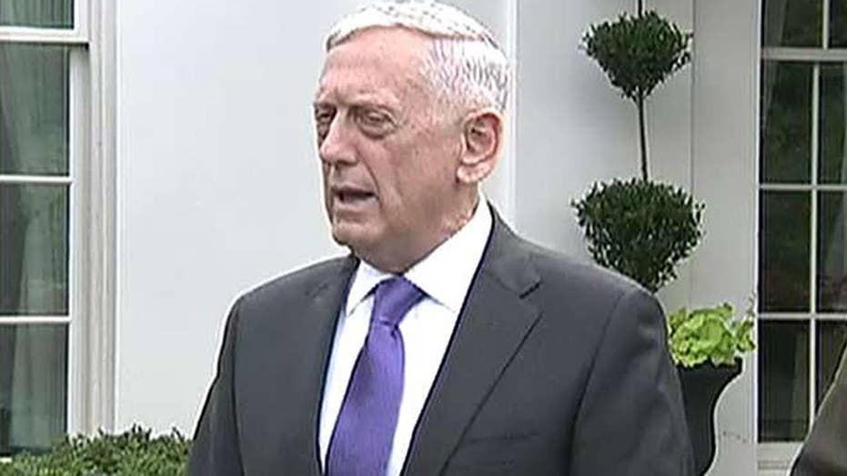 Mattis warns of 'massive military response' to NKorea threat