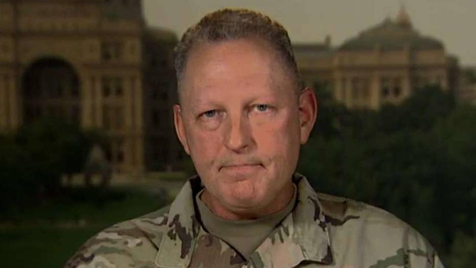 Texas National Guard commander shares Harvey recovery update