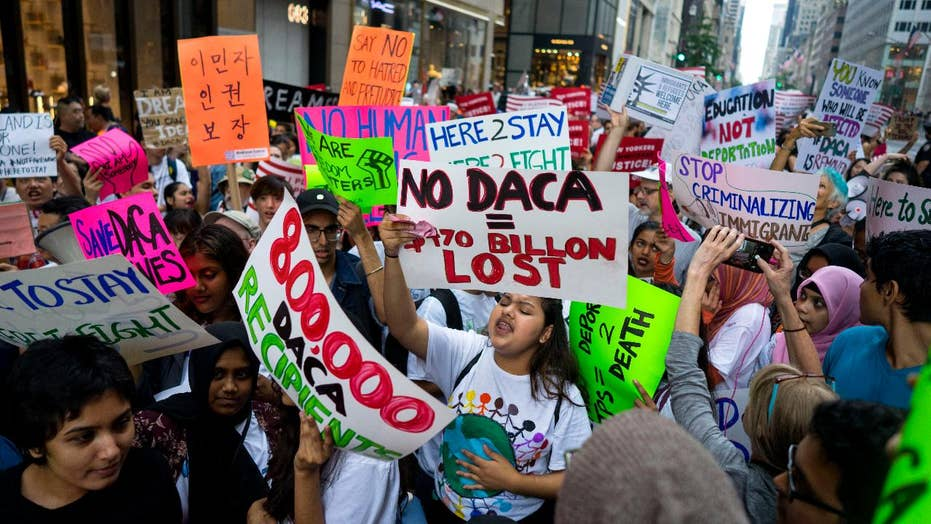 President Trump set to announce DACA decision