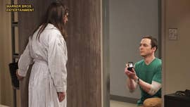 At long last, we finally have the answers to the year's biggest proposal question. After Sheldon popped the question in the Season 10 finale, Season 11 picked up right where the big moment left off.