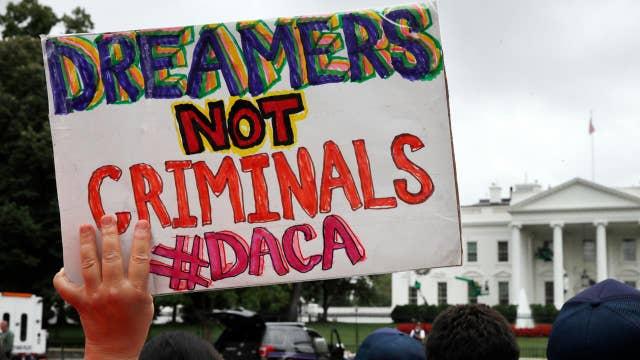 Fears of a Republican split over Trump's DACA announcement