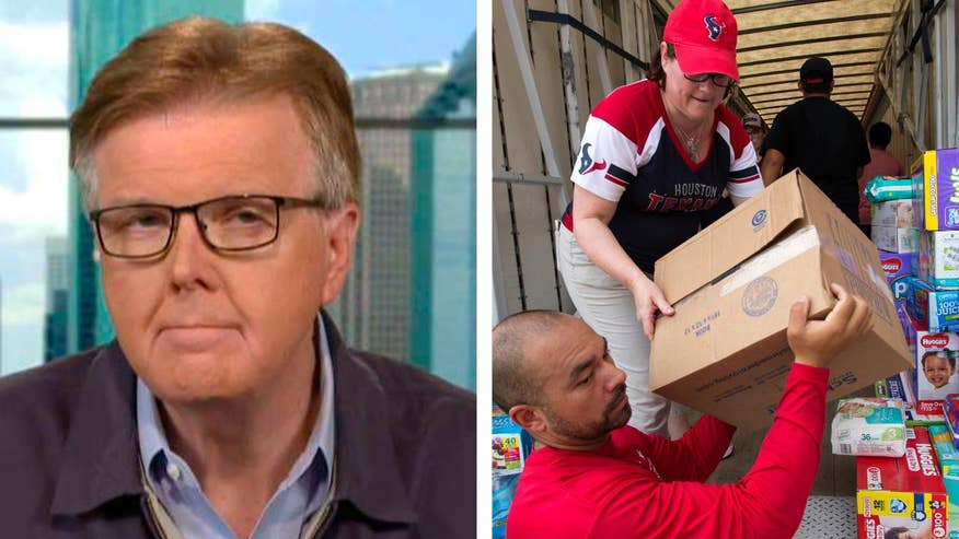 Dan Patrick on growing concerns over contaminated water, mold and relief funds