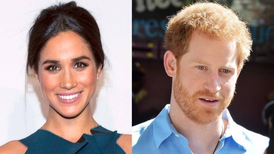 Fox411: Actress Meghan Markle is opening up about her relationship with Prince Harry for the very first time saying, 'We're two people who are really happy and in love'