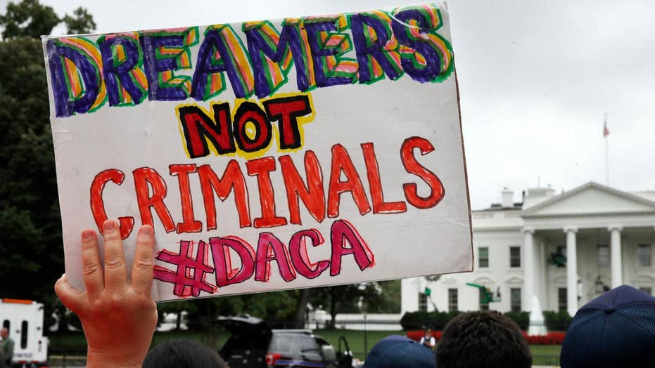 Fears of a Republican split over Trump's DACA announcement