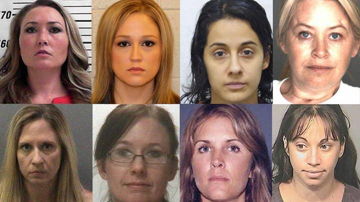 Female teacher and student sex crimes: Legal analysis