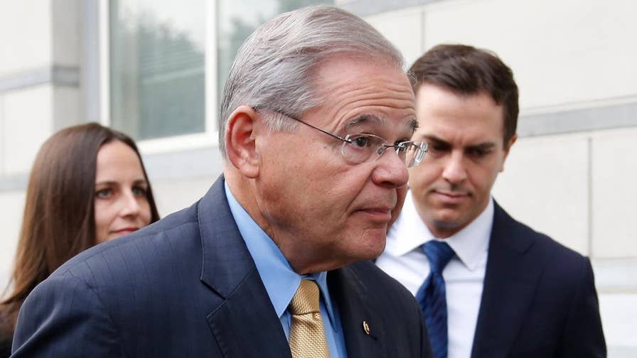 The New Jersey senator is accused of taking bribes from and doing favors for a Florida doctor; David Lee Miller has the details for 'Special Report'