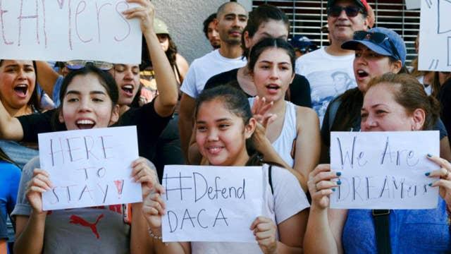 Democrats, media slam 'racist' DACA decision