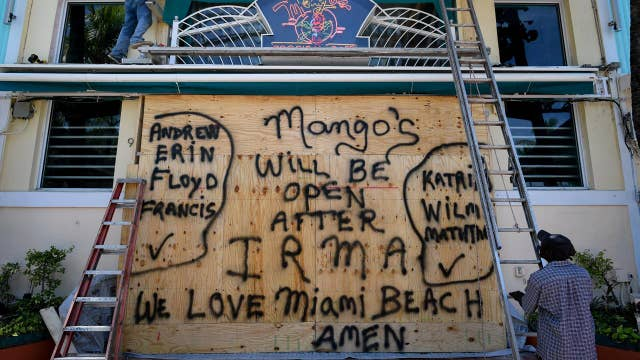 Irma prep: Floridians brace themselves