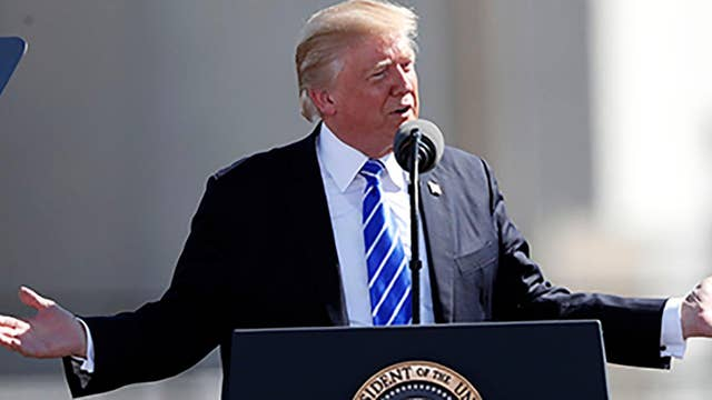 Trump continues to push his agenda by working with Democrats