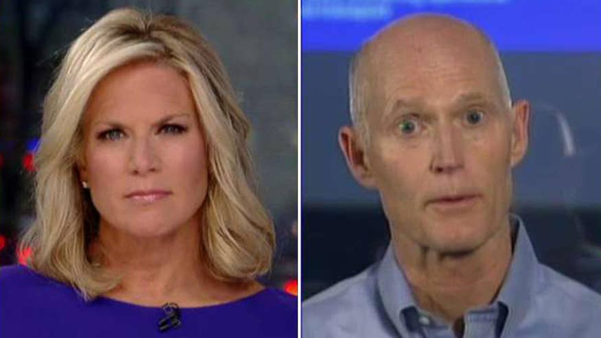 Florida governor shares a warning on 'The Story'