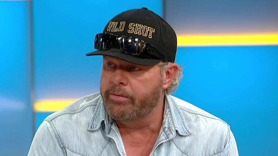 Country music star discusses his new album on 'Fox & Friends'