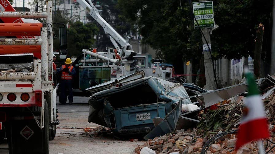A massive earthquake slams Mexico's southern coast and causes massive destruction and more than a dozen deaths