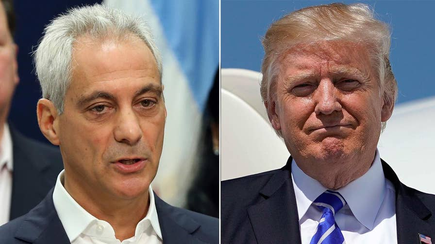 Mayor Emanuel Declares Chicago A U0027Trump Free Zoneu0027