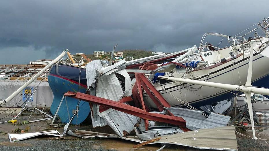 Hurricane Irma leaves path of destruction across Caribbean