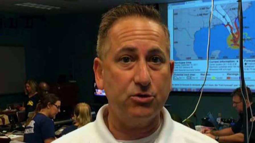 Mayor Rick Kriseman reacts on 'Fox & Friends' to being in path of Hurricane Irma
