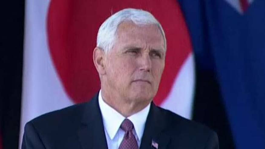 Vice president honors 9/11 victims at ceremony in Shanksville, Pa.