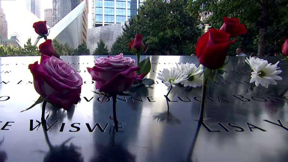 Thousands gather at ground zero to mark 16 years since 9/11