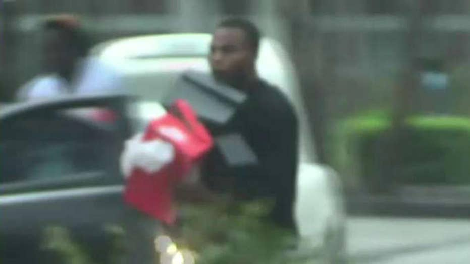 Miami police arrest looters during Hurricane Irma