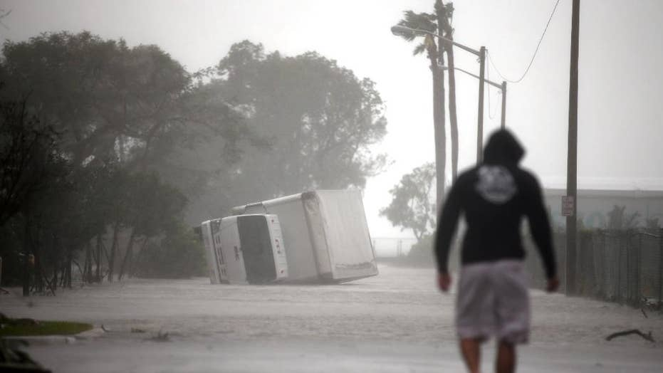 Irma's destruction aftermath: from the Caribbean to Florida