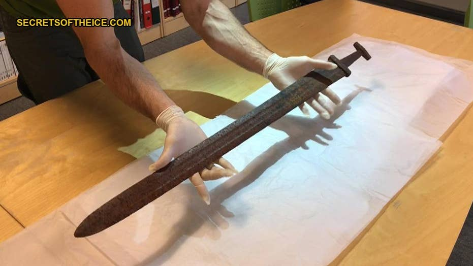 Hunter discovers Viking sword on Norwegian mountain
