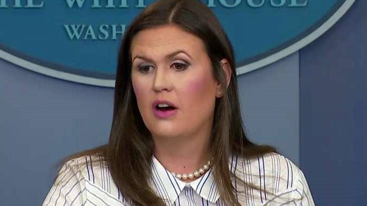 White House: DOJ 'should certainly look at' prosecuting James Comey