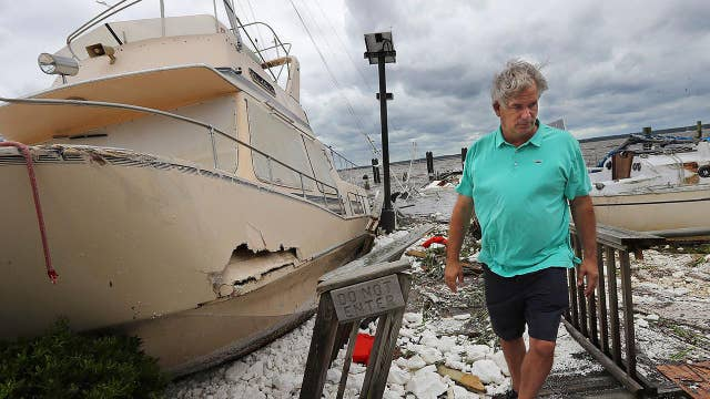Floridians survey damage after battering from Hurricane Irma