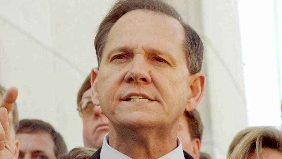 Roy Moore takes big lead in Alabama GOP Senate race