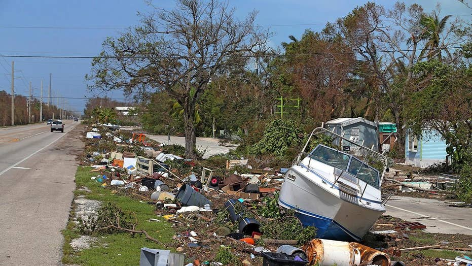 Florida Keys residents survey the devastation after Irma