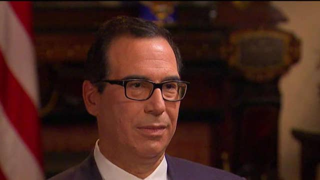 Mnuchin: Determined to get tax reform done this year