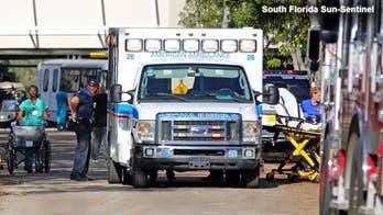 Conditions on the second floor described as sweltering; criminal investigation under way; Bryan Llenas reports from Hollywood, Florida