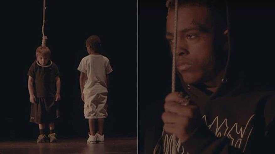 Fox411: Rapper XXXTentacion is under fire after releasing a disturbing music video featuring a Caucasian boy being lynched on a stage as an African-American boy looks on