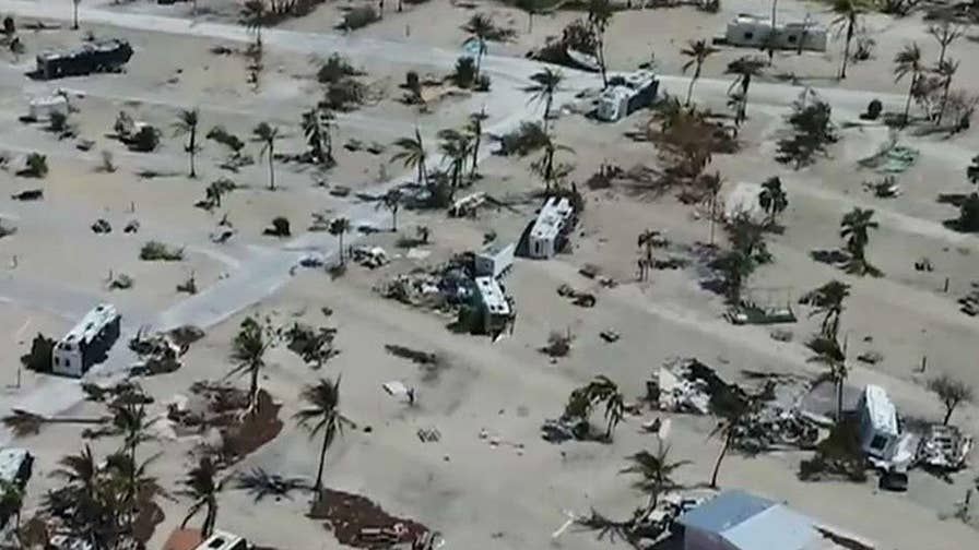 Sheriff warns it's not safe to return to middle, lower Keys due to devastation from Hurricane Irma; Matt Finn reports from Key West