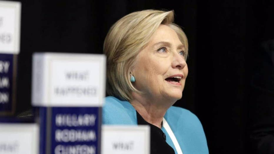 Hillary Clinton embarks on her blame game book tour