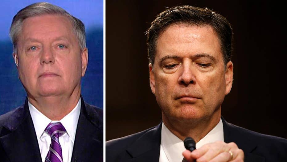 Sen. Graham: Comey needs to come back and testify again