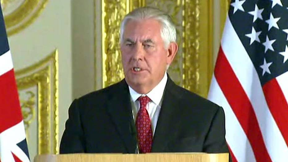 Tillerson meets with counterparts to discuss North Korea