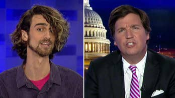 Tucker takes on a pro-Antifa professor over free speech and violence of the Left and whether political violence is justified #Tucker