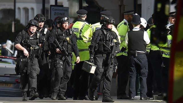 Massive manhunt under way after explosion on London subway