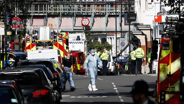 Police: London subway explosion is terrorism