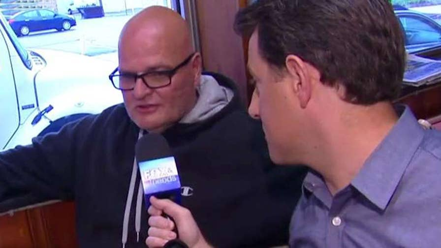 'Fox & Friends' correspondent Todd Piro speaks with diners in Altoona, Pa.