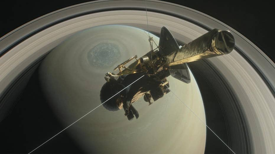 NASA's Cassini spacecraft crashed into Saturn